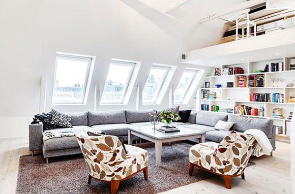 Lo stile nordico, attico a Stoccolma