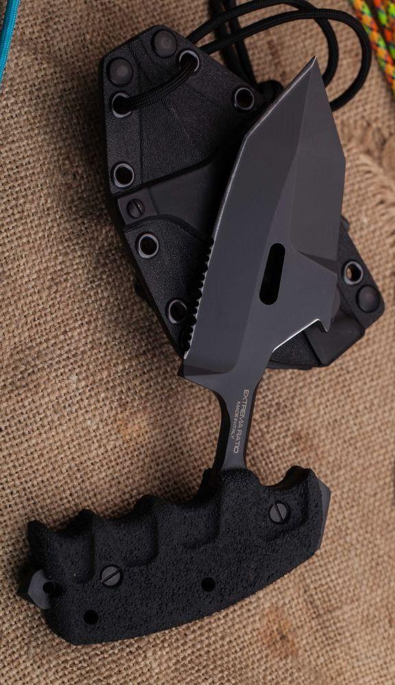 Extrema Ratio Knives 315SEREBL S.E.R.E 1 Push Dagger Fixed Knife Combat Blade