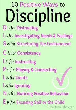 10 Positive Ways to Discipline
