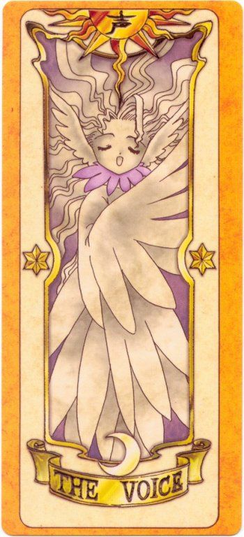 The Clow: The Voice Card Now I really don't remember this one.