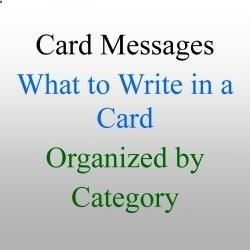 What to Write in a Card: Greeting Card Wishes