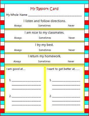 24 best parent teacher conferences images on Pinterest Gym - parent teacher conference form