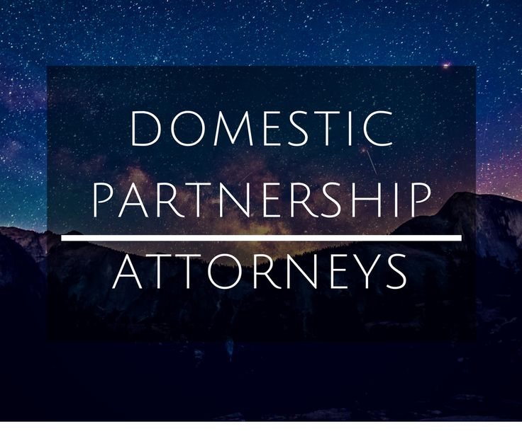 If you are in a domestic partnership and have decided to separate, our attorneys can help you. Give us a call at (310) 546-5858. http://www.badenmansfield.com/practice-areas/domestic-partnership/