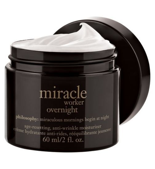 Philosophy Miracle Worker Overnight Age-resetting Anti-wrinkle Moisturiser, £45.50 | 17 Incredible Skincare Products That Are Totally Worth All…