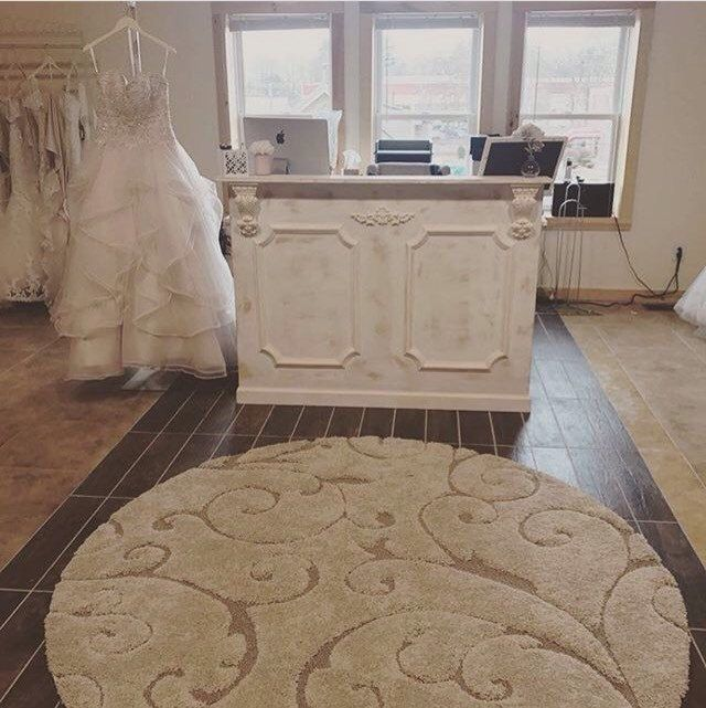 Augusta - Shabby chic reception desk/ hostess desk/ cash wrap counter with moldings and  corbels- made to order by oursolecreations on Etsy https://www.etsy.com/listing/506037935/augusta-shabby-chic-reception-desk  #etsyshop #receptiondesk #cashwrap #bridalshop #moldings #corbels #shabbychic #distressedwhite #whitewood #distressedpaint #gold #handmade #madeinla #woodworker #spa #retailfurniture #retailstore #hairsalon #nailsalon