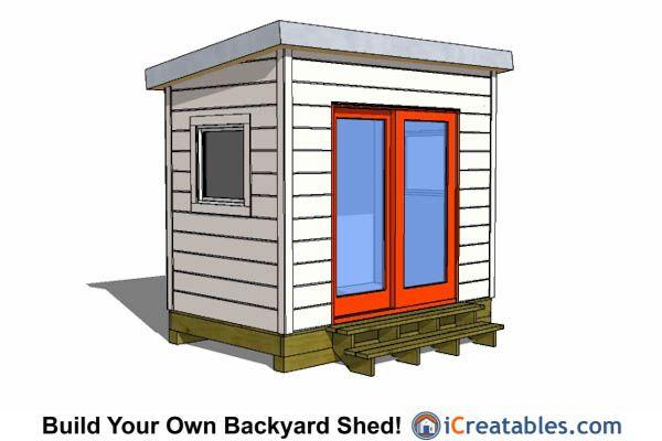 Best 25 6x8 shed ideas on pinterest craftsman sheds for Craftsman style storage sheds