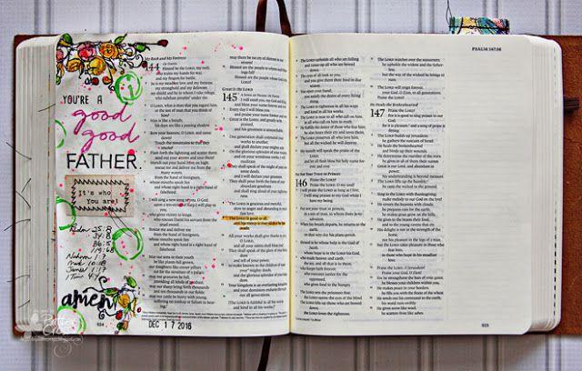 Triple the Scraps: Glory {Art 2016} Scripture Challenge #12, Good