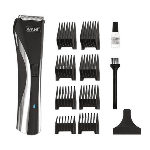 Would you like to have the best line of cosmetic treatments in your home, with quality products at a good price? So don't miss out on WHAL 9698-1016 Black Hair Trimmers! Voltage: 100 - 240 VIncludes: Cleaning BrushCaseHairstyle x 8CableShape