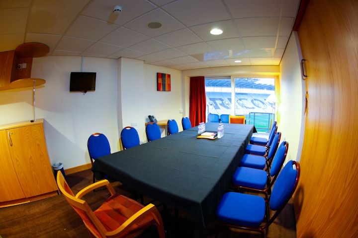 Pitch View Executive Boxes - Accommodate up to 12 delegates, in boardroom style. All of the boxes have fantastic pitch views and a wealth of natural day light