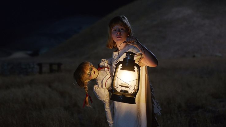 Free Download Annabelle: Creation (2017) DVDrip Full Movie english subtitles hindi movies for free - Several years after the tragic death of their little girl, a dollmaker and his wife welcome a nun and several girls from a shuttered orphanage into....