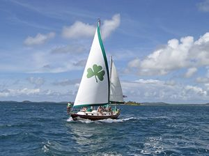 Sailing and Snorkeling in Puerto Rico Aboard Erin Go Bragh Charters