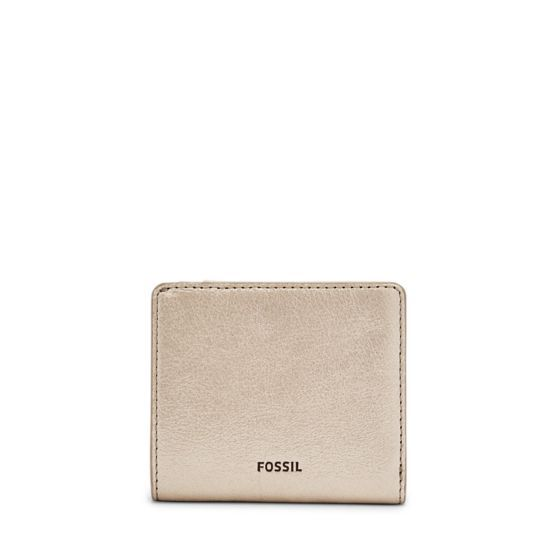 This season, less is definitely more. Our Emma mini wallet's metallic leather in shimmery taupe make it a lasting essential.We've designed this wallet with a special lining to help protect the Radio Frequency Identification (RFID) chips in your credit and debit cards from unwarranted scanning.