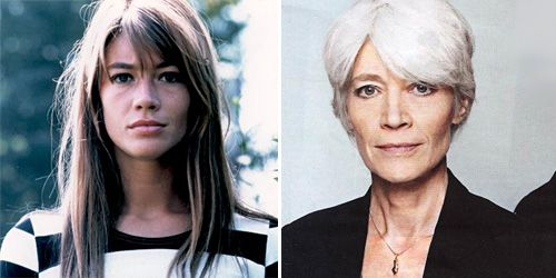 Francoise Harding, then and now. Damn she aged well