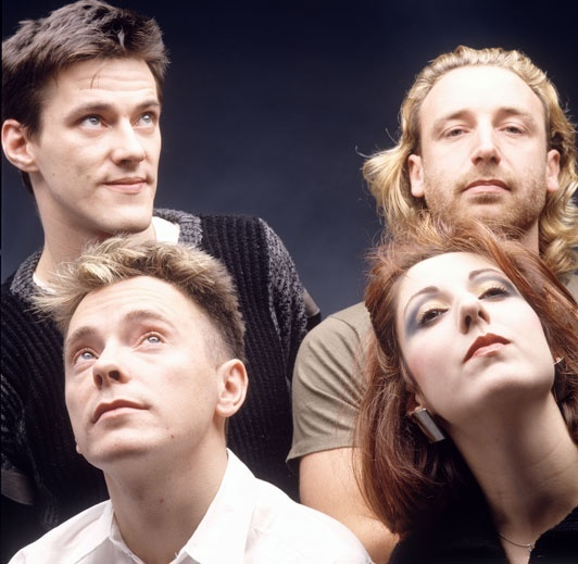 """New Order. Born from the ashes of Joy Division, the band probably had the single best alternative dance song of the 1980's with """"Bizarre Love Triangle."""" Their use of electronics, simple guitar riffs but melodic bass guitar lines gave them a very unique sound."""