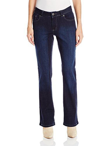 Lee Womens Modern Series Curvy Fit Brooklyn Bootcut Jean Rinse 4 Short Petite * Click image for more details.