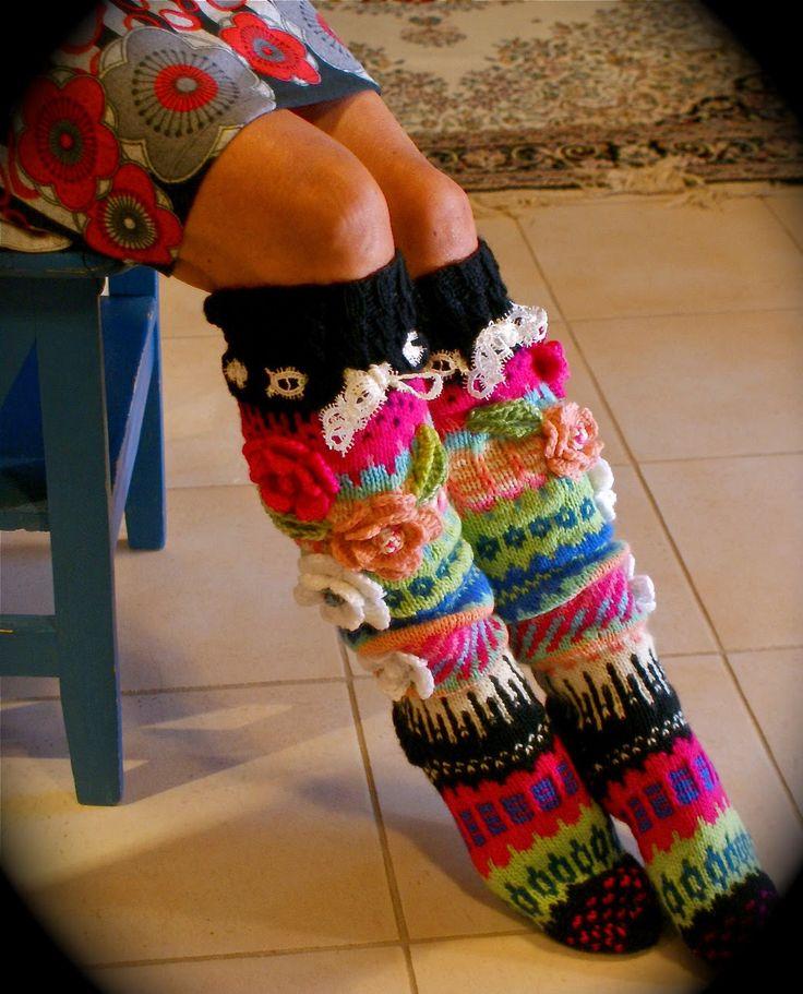 Ankortit: Sukkia sukkia vaan---