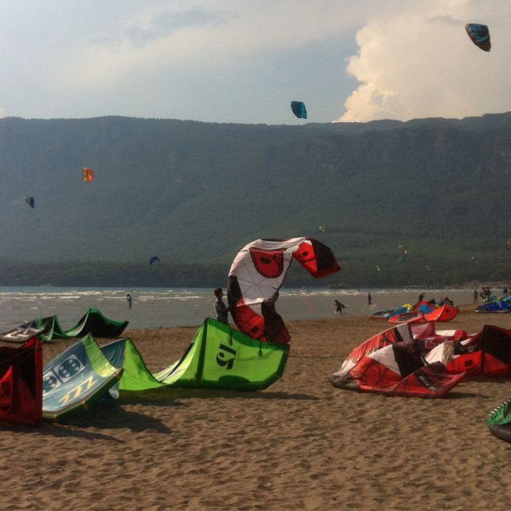 Kitesurf in Akyaka Turkey