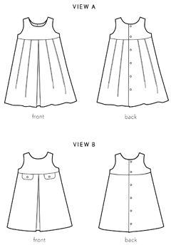 music box jumper sewing pattern