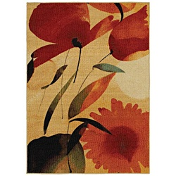 @Overstock.com - A beautiful, abstract print highlights this beautiful rug. This contemporary rug features warm rich of hues of red and orange that are sure to complement the decor of any room in your home.http://www.overstock.com/Home-Garden/Mohawk-Home-Fiesta-Primaveral-Multi-color-Rug-5-x-7/6442674/product.html?CID=214117 $98.99