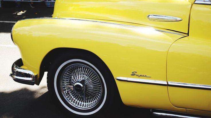 Moomba Car #yellow