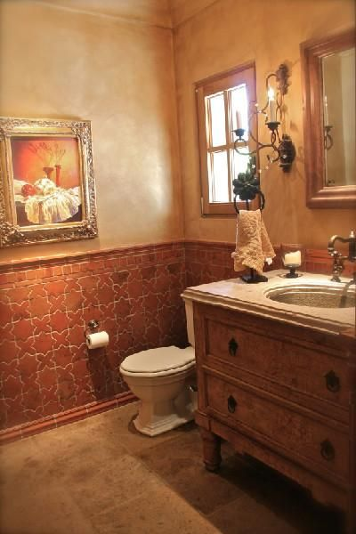 Great Wainscot Terracotta Tiles Interior Design