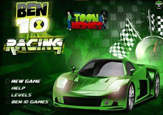 Friv4school: Ben 10 racing - The ultimate racing in 3D
