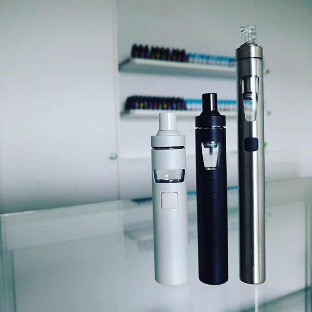 The Joytech AIO Family, available in 3 different sizes & colours. Perfect for new vapers, only $29.95 @vaporaecigs #newvaper