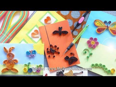 tutoriel d 39 introduction au quilling mat riel et. Black Bedroom Furniture Sets. Home Design Ideas