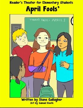 Have a little fun on April first with this Readers Theater script. Its a fun way to promote reading and speaking fluency. This original story is about a classroom of students on April first trying to fool each other. Their new classmate manages to trick them all!