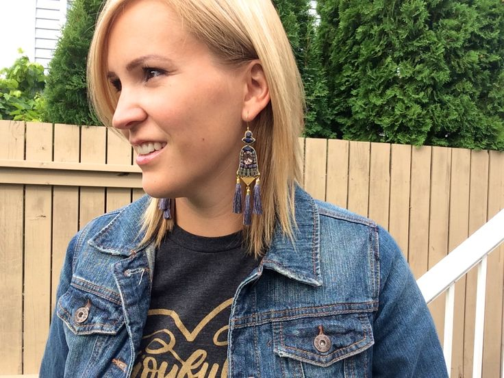 Adore these earrings!! Totally on repeat!