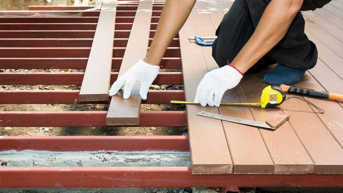 decking-materials #deckconstruction Deck Building Easy tips in
