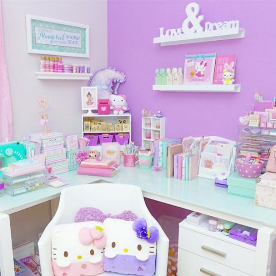 1000 ideas about pastel room on pinterest kawaii room for Cuartos decorados kawaii