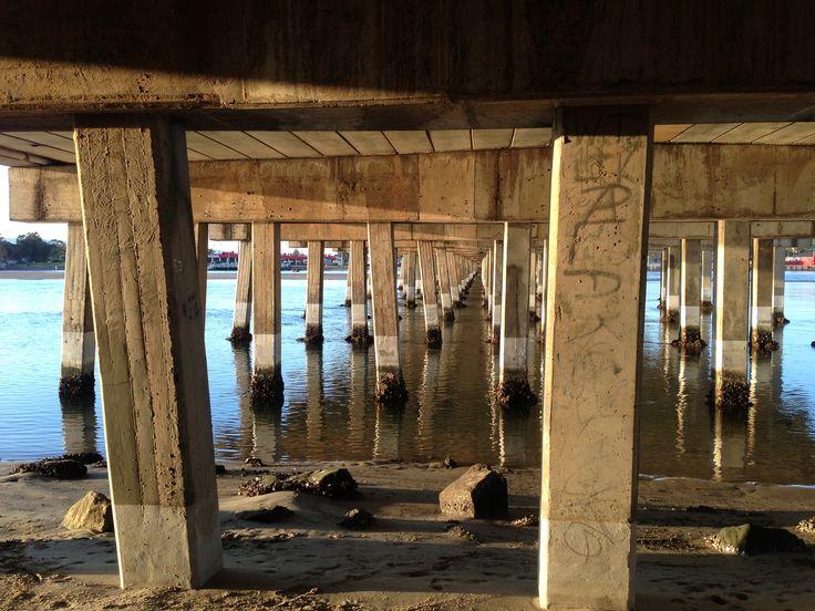 2013. The bridge at Lake Illawarra
