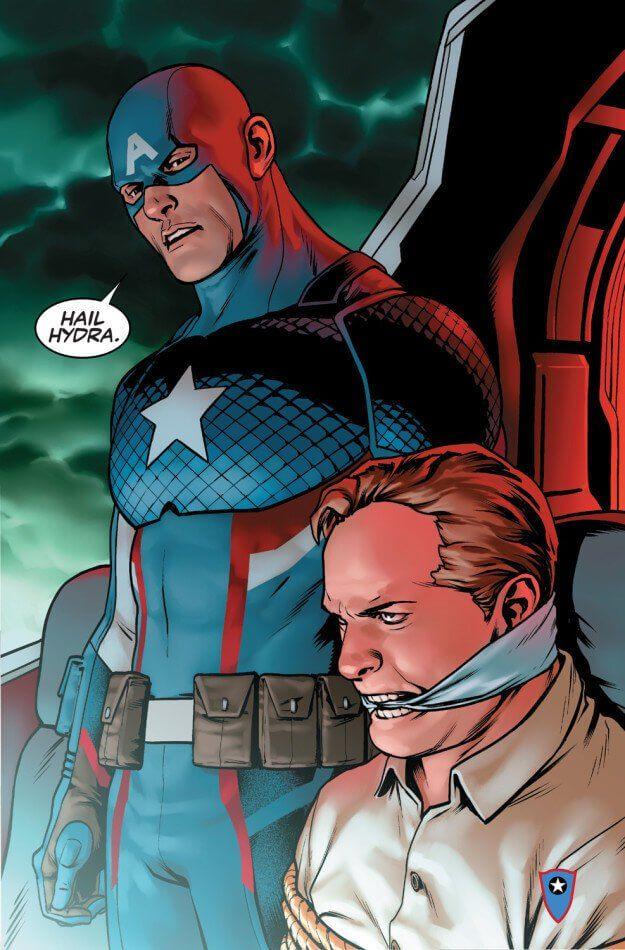 【真相】キャプテン・アメリカはヒドラだった?問題作『キャプテン・アメリカ : スティーブ・ロジャース #1』詳細あらすじ