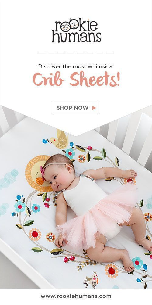 The most whimsical crib sheets ever! These are a must have for whimsical nursery decor and fairytale babies. #affiliate