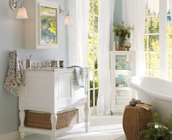 1000 ideas about pottery barn colors on pinterest pottery barn paint sherwin williams for Pottery barn bathroom paint colors