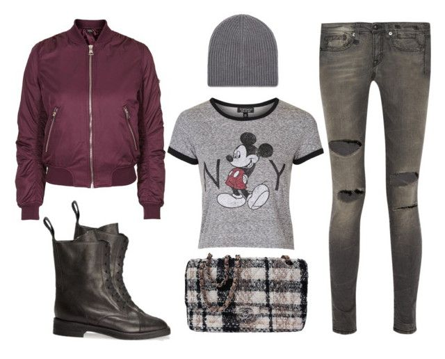 """""""New York City Street..."""" by hattie4palmerstone ❤ liked on Polyvore featuring Topshop, Joseph, Chanel, R13, topshop and joseph"""