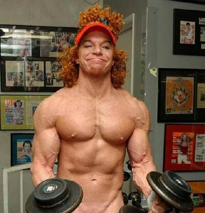 Carrot Top Muscles Check out what I found on the internet
