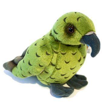 New Zealand Kea Bird Soft Toy with Sound
