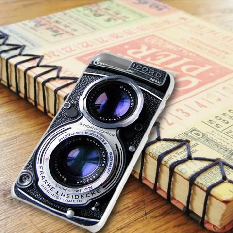 Vintage Camera Rolleiflex Dual Lens iPhone 6 Plus|iPhone 6S Plus Case