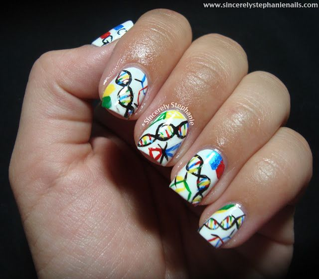 Science Nail Designs: 50 Best DNA Art Images On Pinterest
