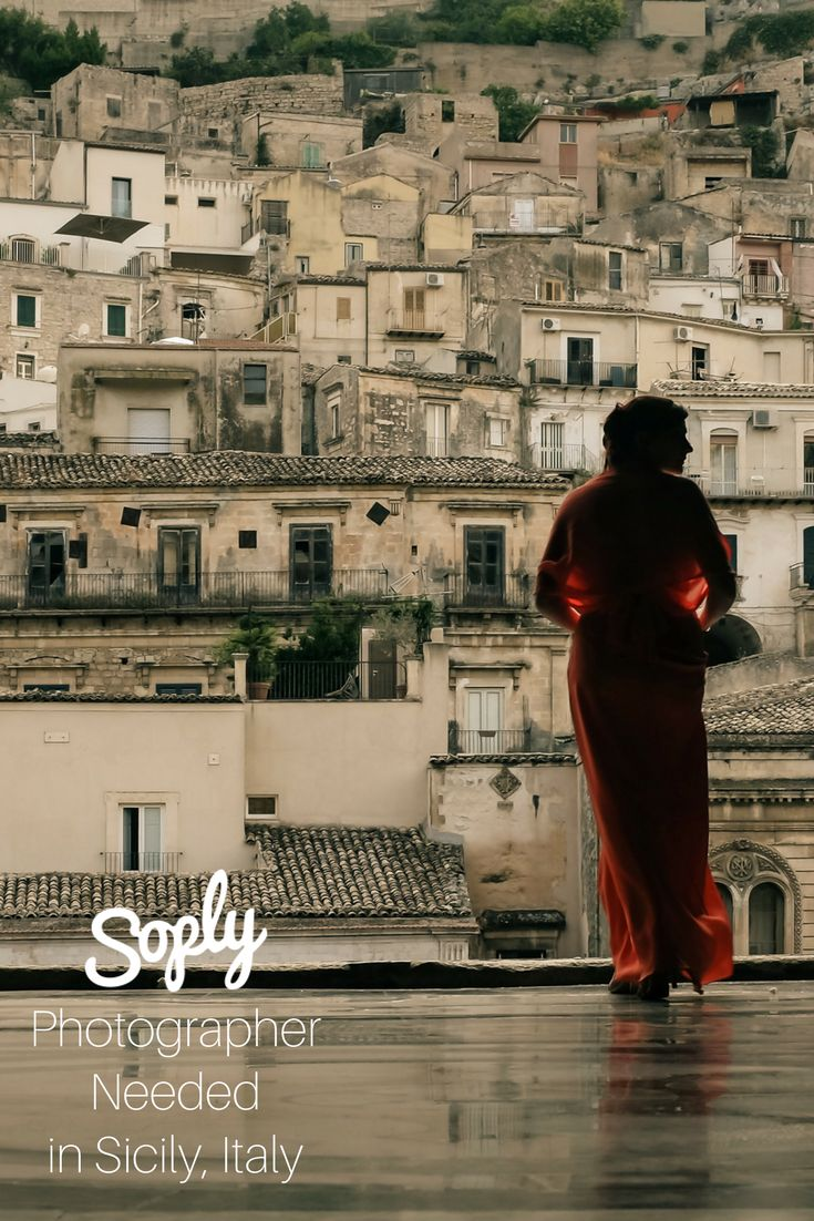 #Photographer needed for a group of #friends' #trip to #Sicily, #Italy. See the #photography job and apply by clicking the pin!