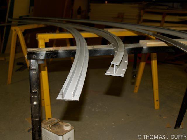 I design and make curved stainless steel track for pocket doors. & 11 best Curved Doors images on Pinterest | Pocket doors Pockets ... Pezcame.Com
