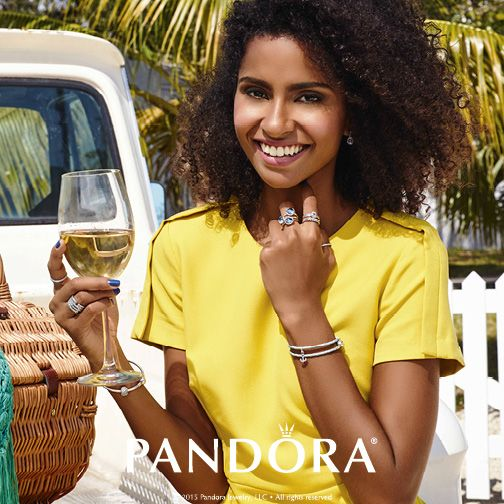 Ready for a summer romance? Create a flirty look with stacked rings and layered bracelets to show off your #PANDORAstyle.