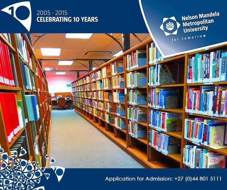#NMMUGEORGE proudly offers a fully accessible on-campus library for our students to broaden their knowledge. #libary #Students #knowledge