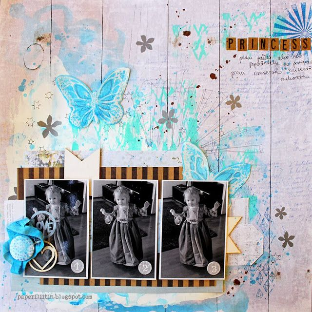 ***general Scrapbooking*** Princess - 3rd Eye i Studio 75 week