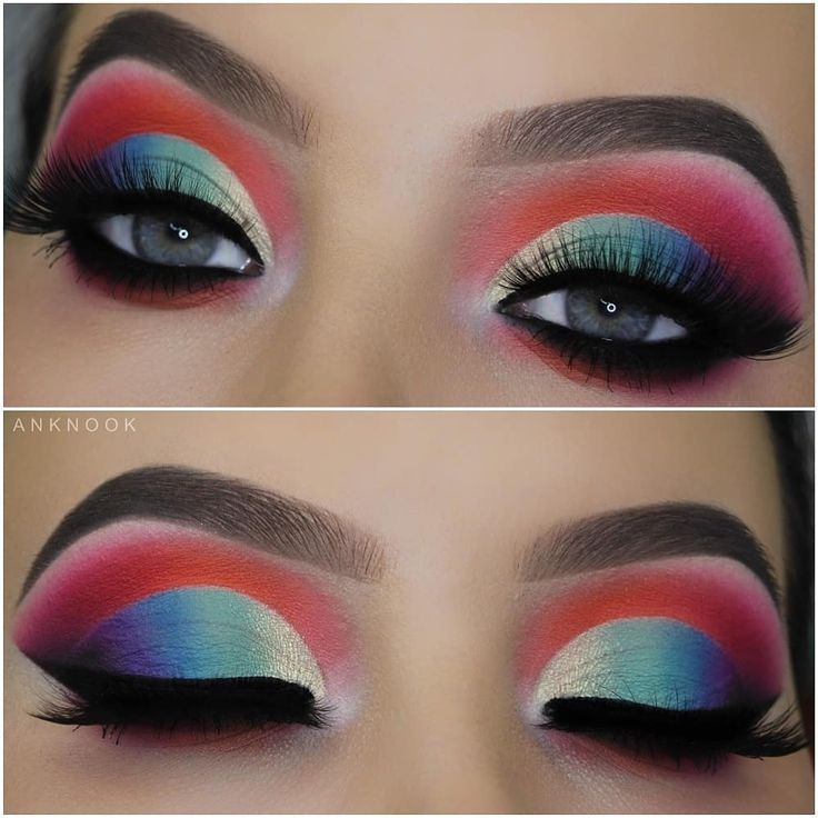 """Makeupbyan An Knook on Instagram """"Find color in the"""