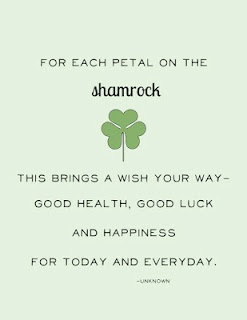 Shamrock - also used to teach the Holy Trinity