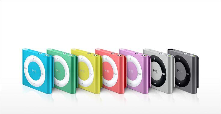 Apple - El iPodshuffle está lleno de color, VoiceOver, listas de reproducción y mucho más.