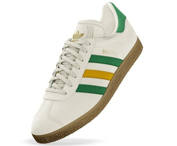 e3e0ae71d29 Adidas Gazelle Brasil World Cup edition | Sneakers I Love | Adidas ...